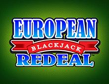 European Blackjack Redeal Gold