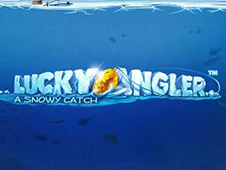 Lucky Angler: A Snowy Catch HTML