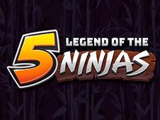 Legend Of The Five Ninjas